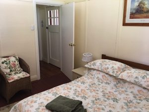 Back Bedroom - Double & Single beds